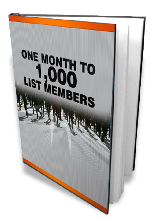 Product picture One Month 1000 members - Get 1000 members listed in 1 month